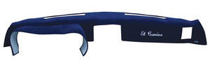 1981-1988 Monte Carlo Dash Cover, Customized Monte Carlo Plain w/o AC