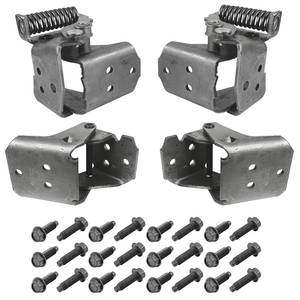 1978-88 Malibu Door Hinge Kit, Complete