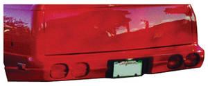 1978-1987 El Camino Bumper, Rear Corvette-Style (El Camino)