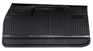 Chevelle Door Panels, 1970-72 Leatherette Convertible, Rear