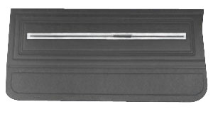 1966-1966 Chevelle Door Panels, 1966 Leatherette Chevelle or El Camino, Front, by Distinctive Industries