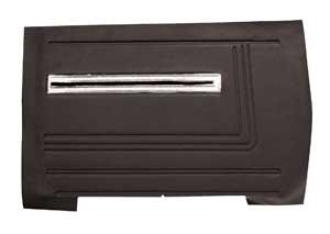 Chevelle Door Panels, 1966 Leatherette Convertible, Rear