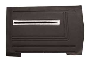 Chevelle Door Panels, 1966 Leatherette Convertible, Rear