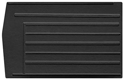 Chevelle Door Panels, 1967 Leatherette Convertible, Rear