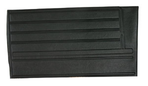 Chevelle Door Panels, 1968 Leatherette Convertible, Rear