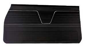 Door Panels, 1969 Leatherette Chevelle or El Camino, Front