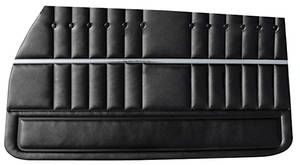 Door Panels, 1969-70 Reproduction (LeMans Custom/Sport) Rear, Convertible