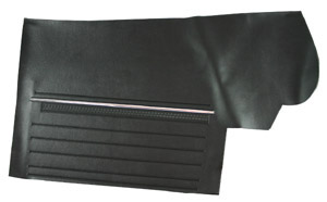Chevelle Door Panels, 1969 Leatherette Convertible, Rear