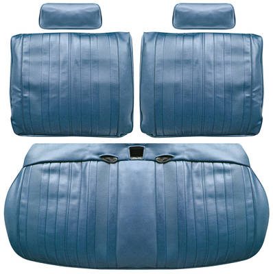 El Camino Seat Upholstery, 1970 Leather Split Bench