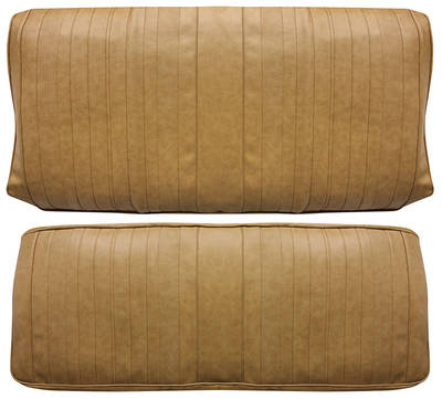 Chevelle Seat Upholstery, 1970 Leather Rear Seat Coupe