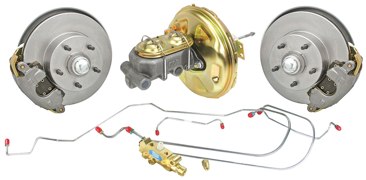 Photo of Brake Kits, Front Stock Spindle Disc Standard Booster standard kit