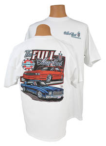 Malibu Monte Carlo T-Shirts (1970 & 1985), by Hot Rods Plus