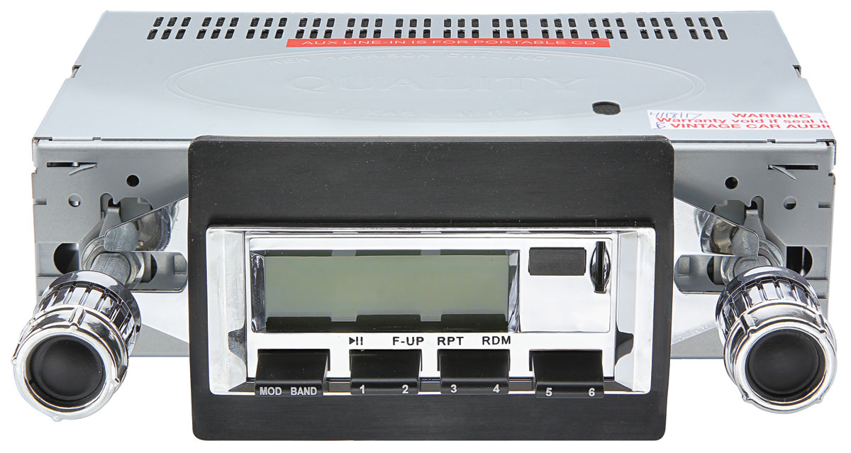Photo of Stereo, Vintage Car Audio 100 Series (Chrome Face)