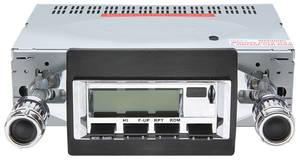 1970-1972 Monte Carlo Stereo, Vintage Car Audio 100 Series (Chrome Face)