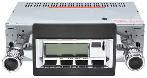 1970-72 Monte Carlo Stereo, Vintage Car Audio 100 Series (Chrome Face)
