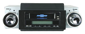 1973-77 Monte Carlo Stereo, 200 Series (Black), by Vintage Car Audio