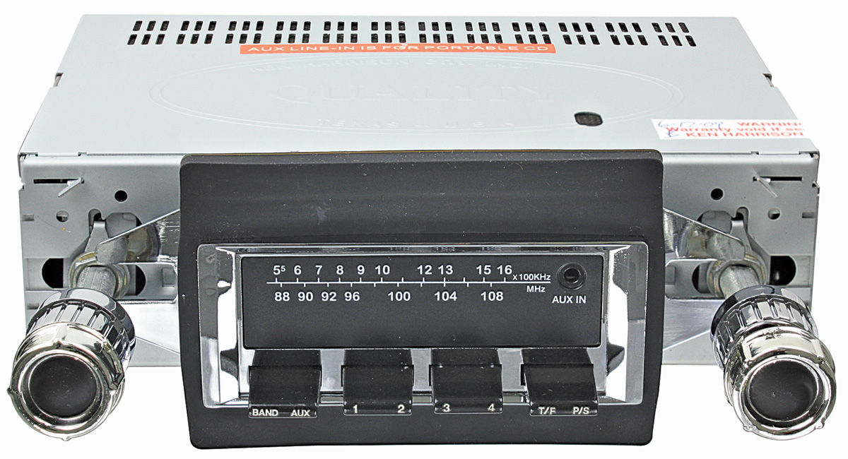 Photo of Stereo, Vintage Car Audio 300 Series (Chrome Face)
