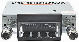 1970-72 Monte Carlo Stereo, Vintage Car Audio 300 Series (Chrome Face)