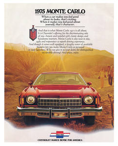 1975-1975 Monte Carlo Monte Carlo Full-Color Sales Brochure