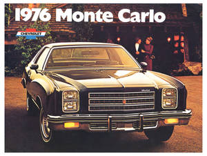 Monte Carlo Full-Color Sales Brochure