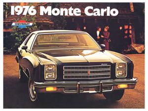 1976 Monte Carlo Full-Color Sales Brochure