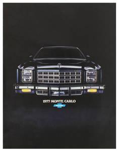 1977 Monte Carlo Full-Color Sales Brochure