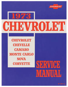 1973 Chevelle Chassis Service Manual