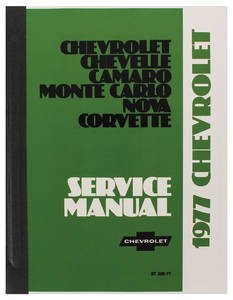1977-1977 Chevelle Chassis Service Manual