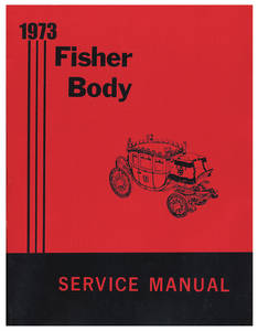 1973 Bonneville Fisher Body Manuals
