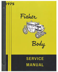 1975 Cadillac Fisher Body Manuals