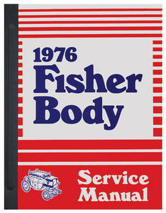 1976-1976 Bonneville Fisher Body Manuals