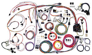 1970-72 Monte Carlo Wiring Harness Kit, Classic Update, by American Autowire
