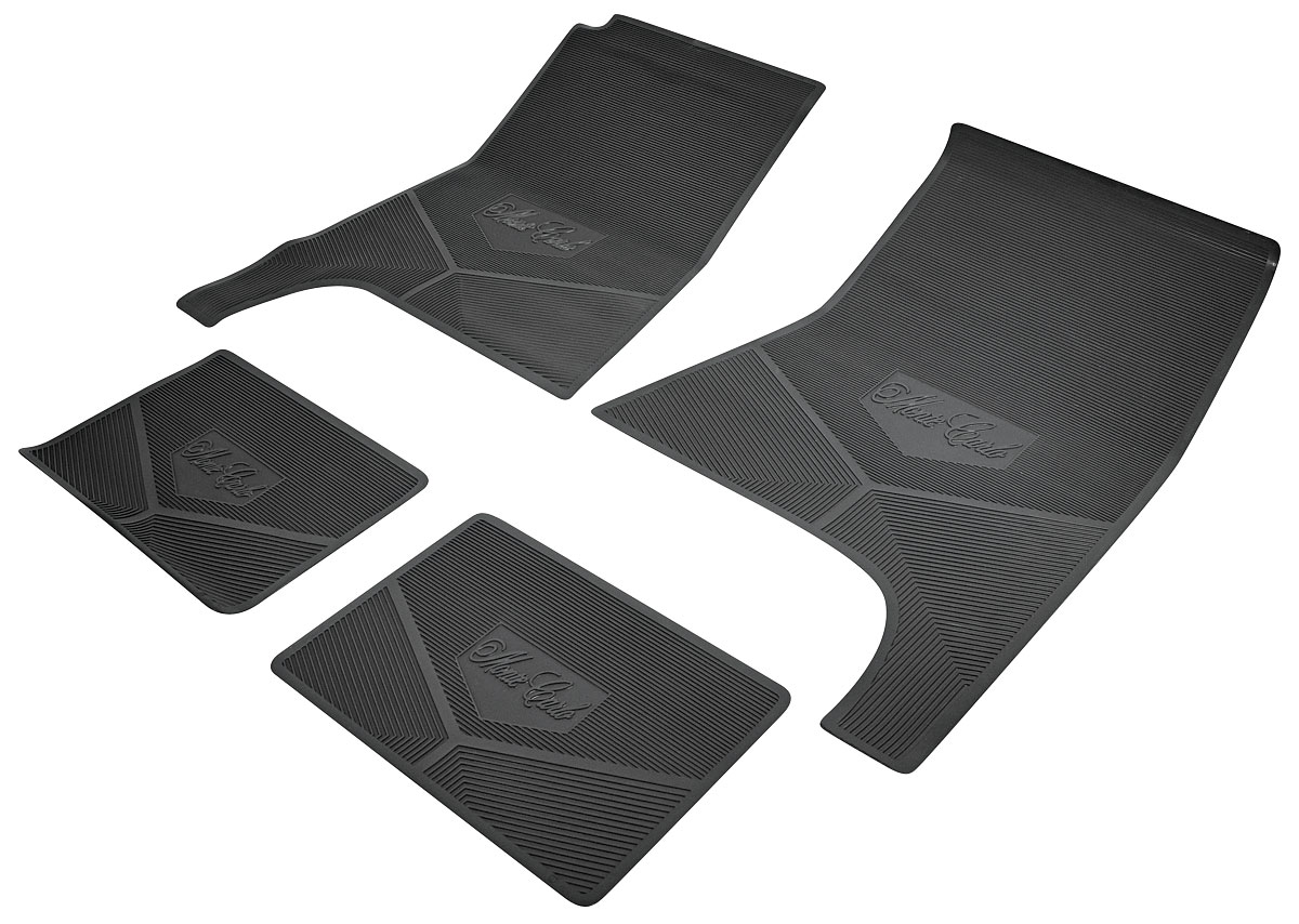 "Photo of Floor Mats, Rubber ""Monte Carlo SS"" script"