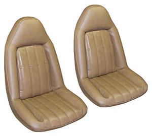 1975-1976 Monte Carlo Seat Upholstery, 1975-76 Vinyl (Swivel Front Buckets), by PUI