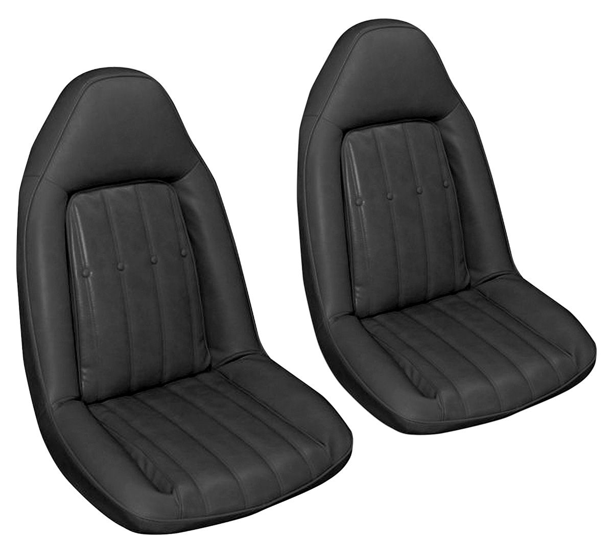 Photo of Seat Upholstery, 1975-76 Velour (Swivel Front Buckets & Rear Seat)
