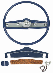 1970 Monte Carlo Steering Wheel Kit, Standard (Wheel Kit)