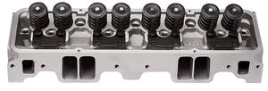 1978-1988 El Camino Cylinder Head, Performer RPM Small-Block Angled Plugs, 70cc, by Edelbrock
