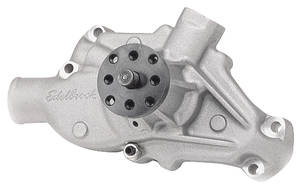 1970-77 Monte Carlo Water Pump, High-Performance Short Pump Small-Block (Satin Finish)