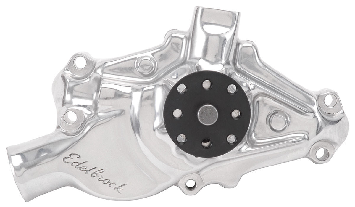 Photo of Water Pump, High-Performance Short Pump Small-Block (Polished Finish)