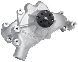 1964-77 Chevelle Water Pump Big-Block, Long (Heavy-Duty) Natural, by Edelbrock