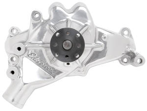 1978-88 Malibu Water Pump, High-Performance Big-Block, Long Pump (Heavy Duty) Polished, by Edelbrock