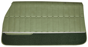 1971-1972 Monte Carlo Door Panels, 1971-72 Assembled (Front), by PUI