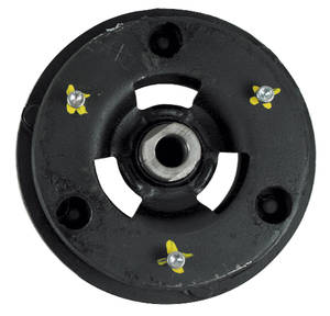 "1962-1977 Grand Prix Air Conditioning Clutch Cover Small Sanden Comp. (1-1/4"" Bolt Pattern), by March Performance"