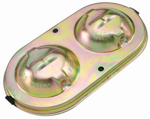 "1967-1976 Cadillac Master Cylinder Lid Kit, Power Disc Brake (6"" X 3-3/8"" Dual Bale)"