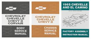 1965-1965 El Camino Restoration Information Kit