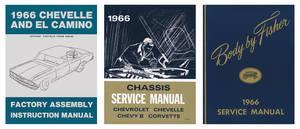 1966 El Camino Restoration Information Kit