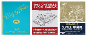 1967-1967 Chevelle Restoration Information Kit