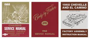 1968-1968 Chevelle Restoration Information Kit