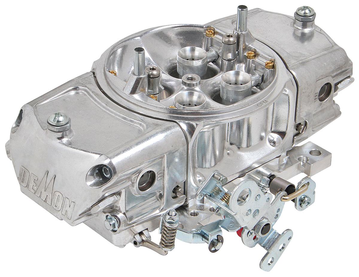 Photo of Carburetors, Mighty Demon Vacuum Secondaries 650 CFM, down leg