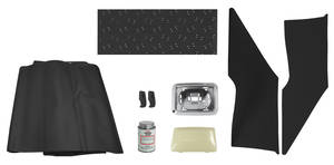 1973-77 Monte Carlo Headliner Restoration Kit, Complete